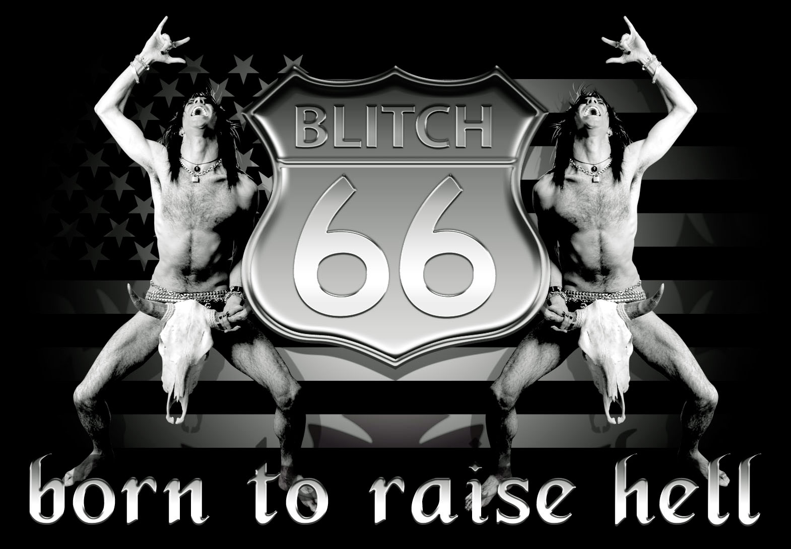 Blitch66 is the original psycho naked cowboy